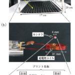 手で触れられる空中ディスプレイを実現?空間を飛び回るミリメートルLED光源の画像