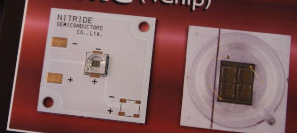 【OPIE'18】ナイトライド,安価/高出力な深紫外LEDを展示