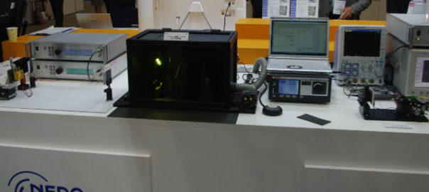 【OPIE'18】NEDO,高出力フォトニック結晶レーザーを展示