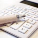 電子式卓上計算機の画像