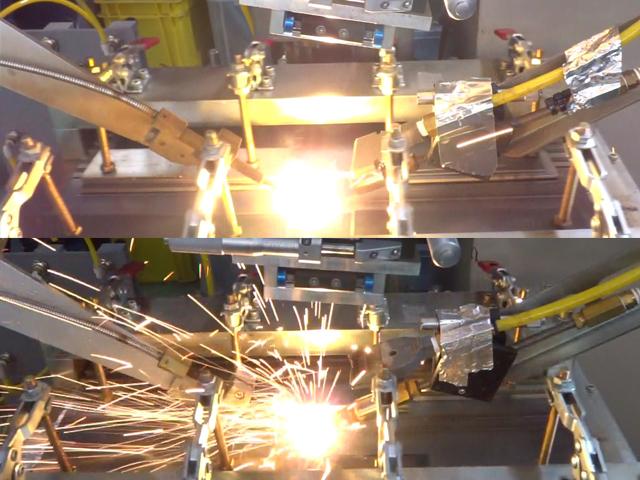 三菱電機,火花が出ないファイバーレーザー光学系を開発