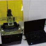 精密電子回路をガラスコップなどの曲面にも形成可能,かつ超高速/高性能な光造形も可能な1台2役3Dプリンターの実用化に向けての画像