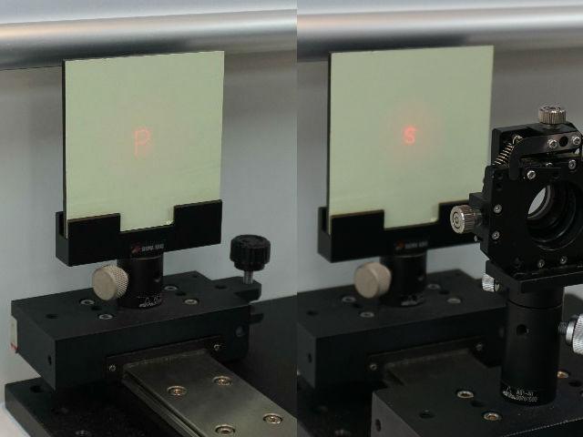 【光フェア】スペースフォトン,3次元DOEを展示