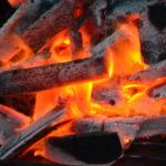 備長炭の画像