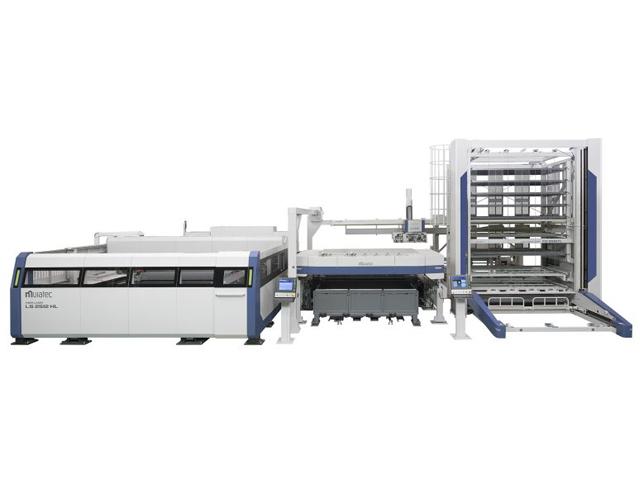 村田機械,ファイバーレーザー複合加工機を発売