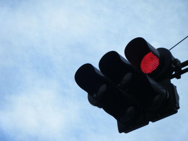 信号機の威厳