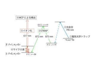 京大ら,レーザー冷却で電子と陽子の質量比を計測