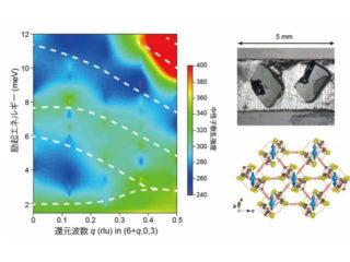 東北大ら,電子誘電性と結合した格子励起を発見
