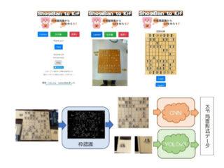 農工大,スマホ画像を棋譜にするAIアプリを開発