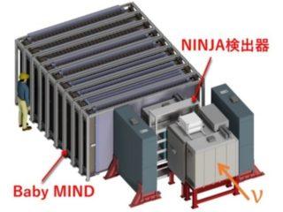 名大ら,NINJA実験でニュートリノ反応を検出