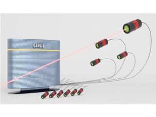 OKI,多点型レーザー振動計を開発
